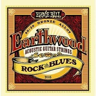 Ernie Ball Earthwood Rock & Blues cuerdas para guita