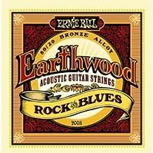 Ernie Ball Earthwood Rock & Blues acoustic guitar strings 10-52 (2 PACKS)