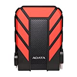 ADATA AHD710P-2TU31-CRD Dashdrive Durable HD710 Pro External Hard Disk Drive, USB 3.1 (2TB, Red)