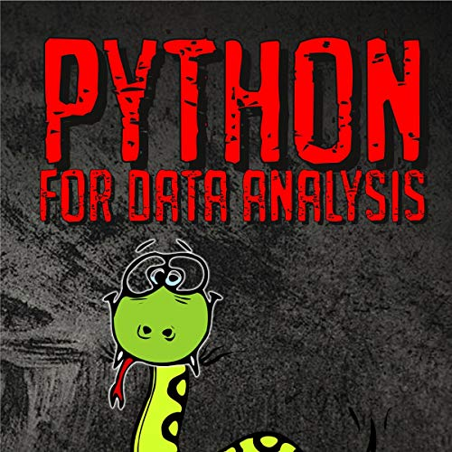 Python for Data Analysis audiobook cover art