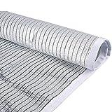 Papel De Aluminio Reflectante Red De Cortinas | Engrosamiento De Encriptación Protección Contra El Sol Para Todo Clima Aislamiento De Sombra Protección UV Para El Exterior Protección De Aislamiento De