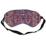 Schlafmaske, Augenbinde, super glatte Augenmaske rot Perserteppich Orientalische Kollektion East