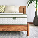 <span class='highlight'>Inofia</span> King Mattress,25cm Hybrid Innerspring Mattress in a Box,9 Zoned Support Mattress Gives Advanced Pressure Point Relief,the HOPE Collection(150x200x25cm)