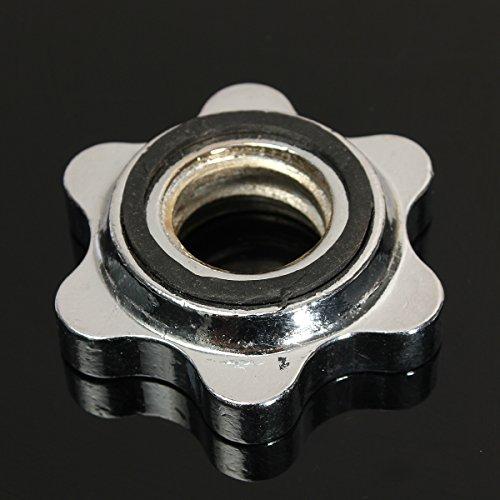 bilanciere 93 kg JenNiFer 25Mm Standard Bilanciere Spin Lock Collari Morsetti A Vite Campana Tamburo Sollevamento Pesi