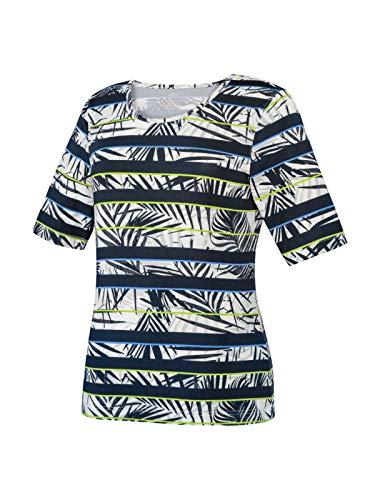 Joy Sportswear T-Shirt von Agnes, bequemes Sportshirt, ideal für Sport und Freizeit 42, Night gestreift