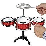 Srenta Kids Desktop Drum Set   Junior Beginner Jazz Drum Kit   Rock Musical Instrument Toddlers Toy