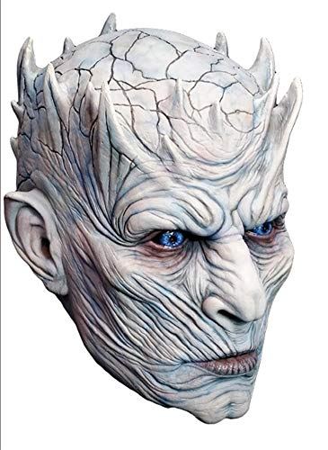 Générique - Mahal796 - Masque Latex Adulte Night 'S King - Game of Thrones - Taille Unique