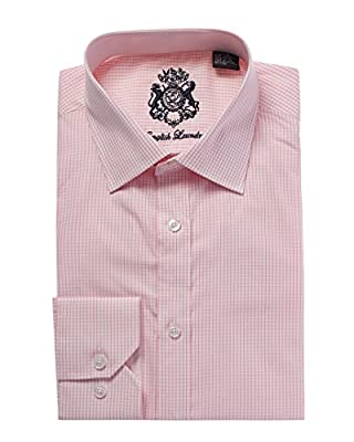 English Laundry Pink Men's Dress Shirt