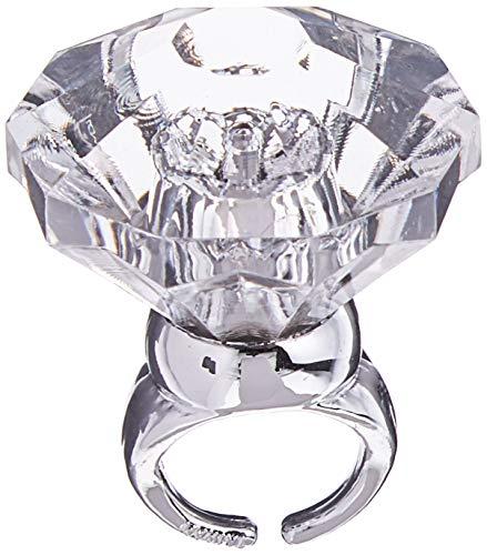 amscan Gigantic Diamond Light-Up Ring | 1 Pc.,...