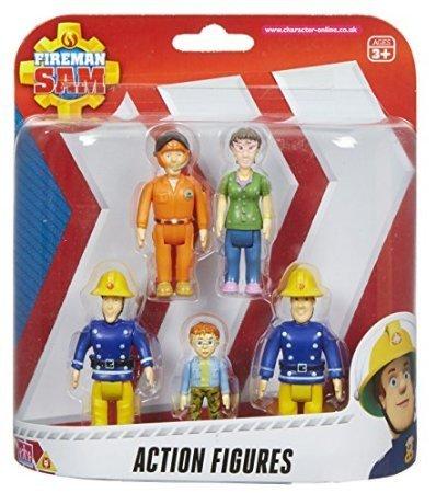 Fireman Sam Action Figures - 5 Figure Pack by MDstore
