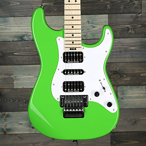 Charvel Pro-Mod So-Cal Style 1 HSH FR Electric Guitar - Slime Green with Maple Fingerboard