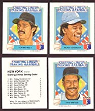 1988 Starting Lineup Talking Baseball NEW YORK YANKEES Team Set