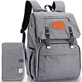 Diaper Bag Backpack, Waterproof Multi Function Baby Travel...