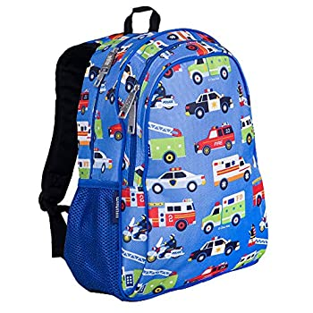 Wildkin 15 Inch Kids Backpack for Boys & Girls 600-Denier Polyester Backpack for Kids Features Padded Back & Adjustable Strap Perfect Size for School & Travel Backpacks BPA-free  Heroes