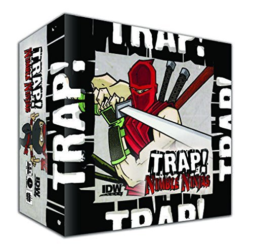 IDW Games Trap! Nimble Ninjas Card Game by