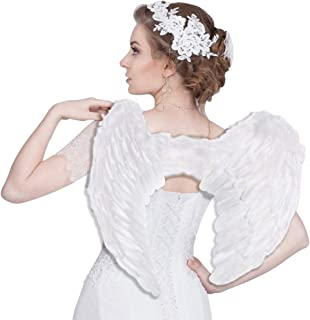 Angel Wings for Kids Girls Angel Costume Wing for Adult Children Feather Angel Wing for Women Men