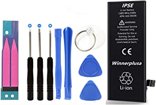 Winnerplusa Battery for iPhone SE with Tools Set
