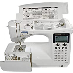 Runner Up for Best Computerized Sewing Machine: JUKI HZL-F600 Computerized Sewing and Quilting Machine