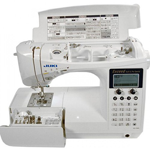Learn More About Juki HZL-F600 Computerized Sewing and Quilting Machine