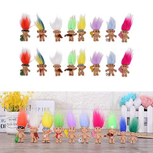 WANBAO Kids Toys Conjunto de Bloques de construcción de Madera, Cubos de Torre Rosado 10pcs, Montessori Sensorial Materials, Equilibrio Juego de apilamiento, fo