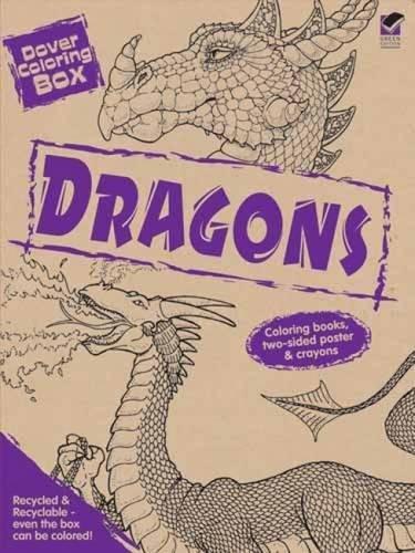 Dover Coloring Box -- Dragons (Dover Fun Kits)
