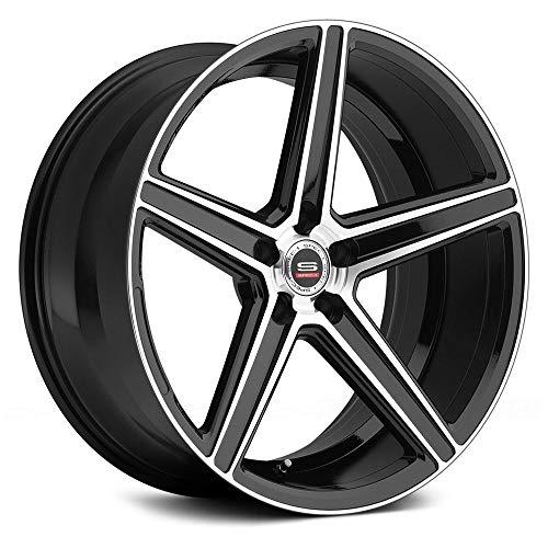 SPEC-1 Racing SP-8 Gloss Black Machined Wheels