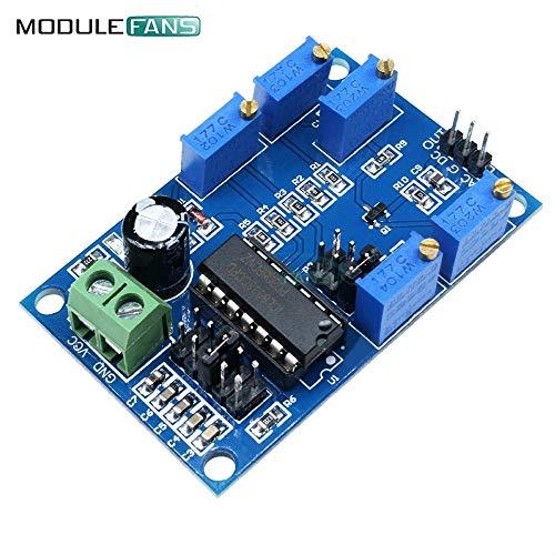 ICL8038 Low-Medium-Frequenz-SignalQuelle Wellenform SinusSignal Generator-Modul 10HZ-450KHZ 12V-15V Dreiecks Quadrat-Sinus-Welle