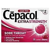 Cepacol Maximum Strength Throat Drop Lozenges, Cherry, 16 ct (Pack of 3)