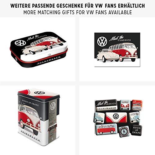 Nostalgic-Art Cartel de chapa retro VW – VW – Meet The Classics – Idea de...
