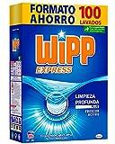 Wipp Express Detergente Polvo Azul para lavadora 100 Lavados
