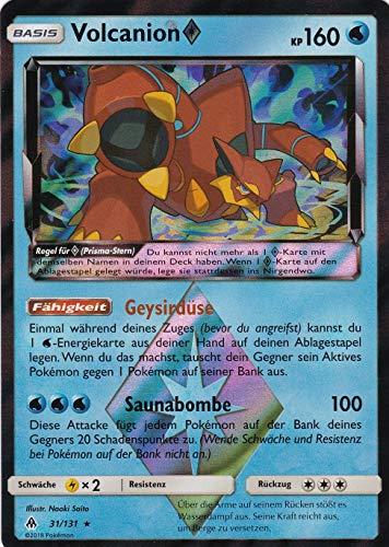 31/131 - Volcanion - Rare Holo - Pokemon - Deutsch - Grauen der Lichtfinsternis