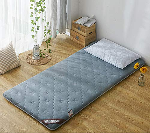 JINDSMART Japanese Floor Mattress,Thicken Tatami Mat, Portable Camping Mattress,Breathable Futon Tatami Mattress Pad Firm And Comfortable