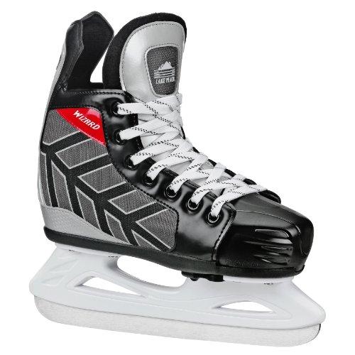 Lake Placid Wizard 400 Boys Adjustable Ice Skate (Medium (13J-3))