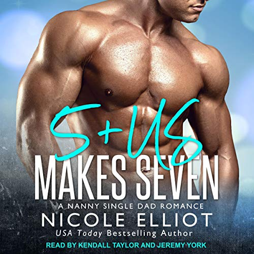 5+Us Makes Seven     A Nanny Single Dad Romance (Baby Makes Three, Book 5)              By:                                                                                                                                 Nicole Elliot                               Narrated by:                                                                                                                                 Kendall Taylor,                                                                                        Jeremy York                      Length: 5 hrs and 57 mins     Not rated yet     Overall 0.0