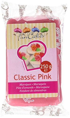 FunCakes Marzapane Rosa Classico  - confezione da 260 grammi
