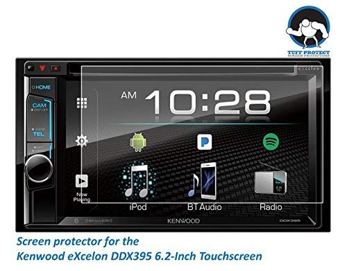 Tuff Protect Anti-Glare Screen Protectors for Kenwood eXcelon DDX395 Car Indash DVD Receiver
