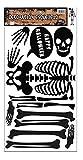 Rubies-S4343 Esqueleto adhesivo decoración Halloween, color negro, Talla única (Rubie's Spain S4343)