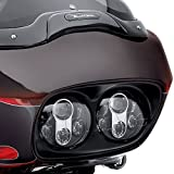 Funlove Dual 5-3/4' Motorcycle Projector Daymaker LED Headlight for 2004-2013 Road Glide
