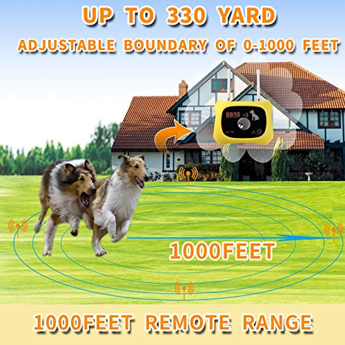 OKPET Wireless Dog Fence Pet Containment System