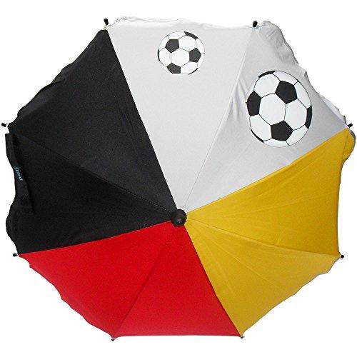 Fillikid 571100 Sonnenschirm Fußball