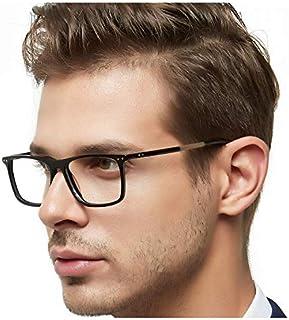 OCCI CHIARI Men Computer Glasses Rx Eyewear Hinge Oversized Eyeglasses Blue light filter