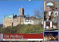 Die Wartburg - Weltkulturerbe im Herzen Deutschlands (Wandkalender 2022 DIN A2 quer): Fotografischer Besuch auf der Wartburg (Monatskalender, 14 Seiten )