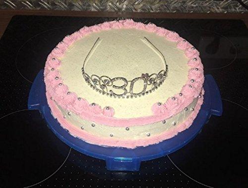 BABEYOND Kristall Geburtstag Tiara Birthday Crown Prinzessin Kronen Haar-Zusätze Silber Diamante Glücklicher 18/20/21/30/40/50/60 Geburtstag (20 Jahre alt) - 5