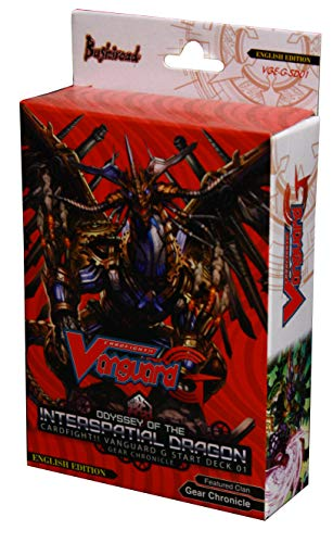 Bushiroad Cardfight Vanguard G Odyssey of The Interspatial Dragon 01 Start Deck VGE-G-SD01