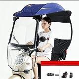 Ombrello impermeabile elettrico universale per bicicletta, parasole per moto (colore: B)