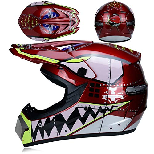 XIUJC Motocross Downhill Enduro Helme Offroad Helm Kindersicherheit Schutz Helm City...