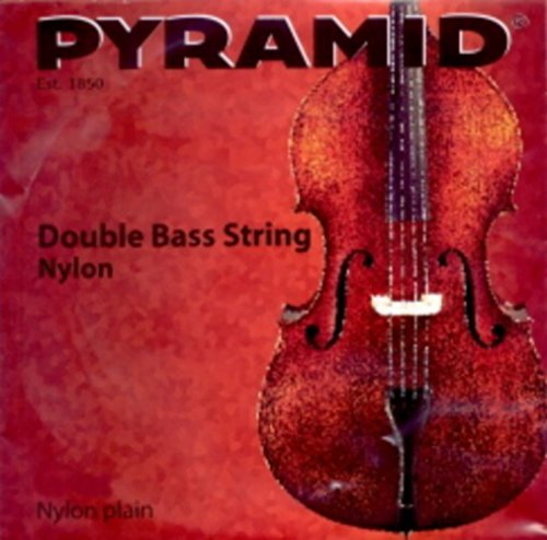 CUERDA CONTRABAJO - Pyramid (Nylon 217201) 1ª Medium Bass 4/4 G (Sol)