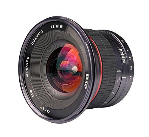 Ultra-Weitwinkelobjektiv für Micro 4/3 (Olympus und Panasonic Lumix) Meike MK-12mm-F/2.8