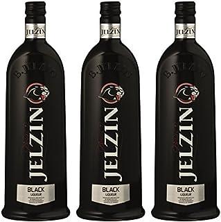 Jelzin Vodka Black Likör 3 x 0.7 l
