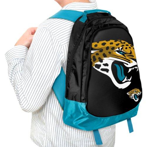 Forever Collectibles NFL Core Structed Sac à dos, Bagages, Jacksonville Jaguars